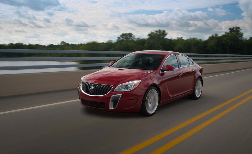 2014 Buick Regal GS - Slide 2