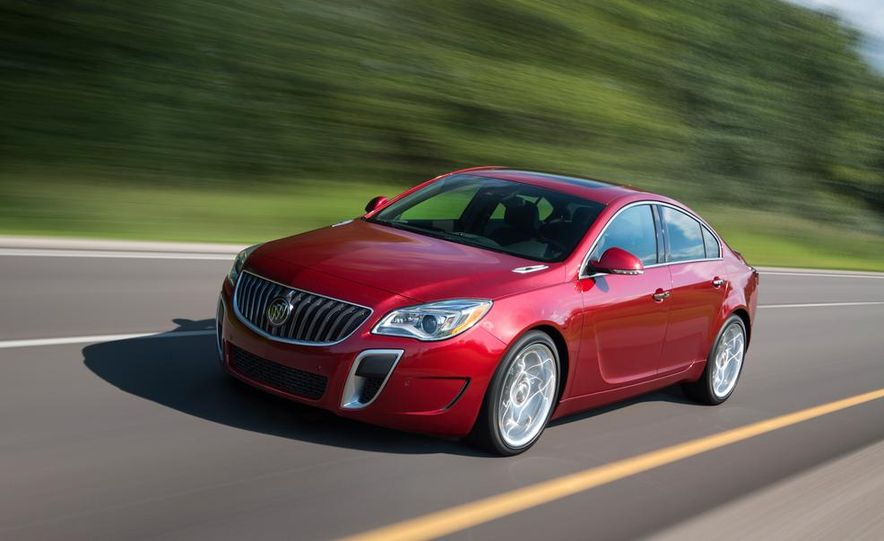 2014 Buick Regal GS - Slide 3