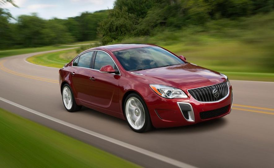 2014 Buick Regal GS - Slide 4