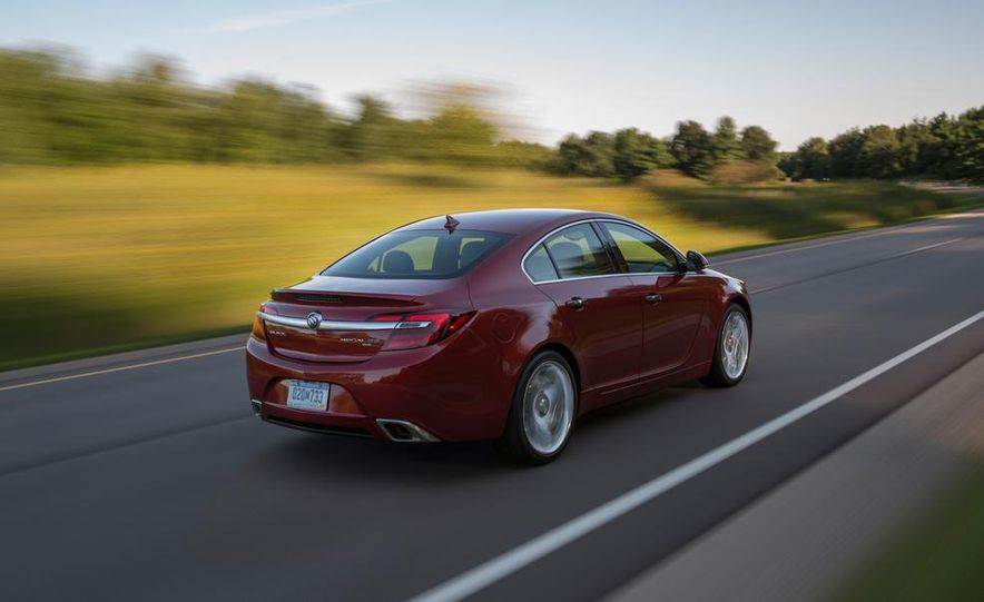 2014 Buick Regal GS - Slide 5