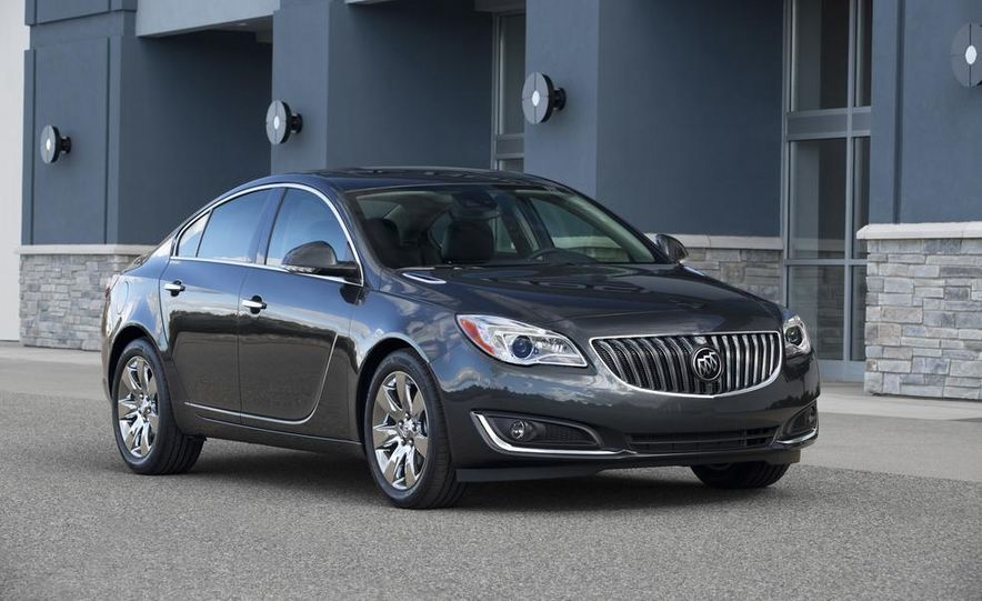 2014 Buick Regal GS - Slide 16