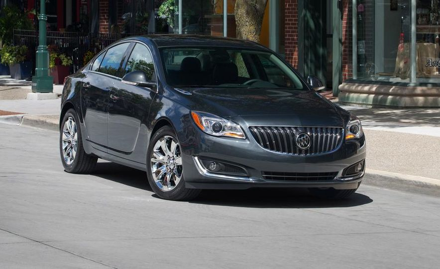 2014 Buick Regal GS - Slide 18