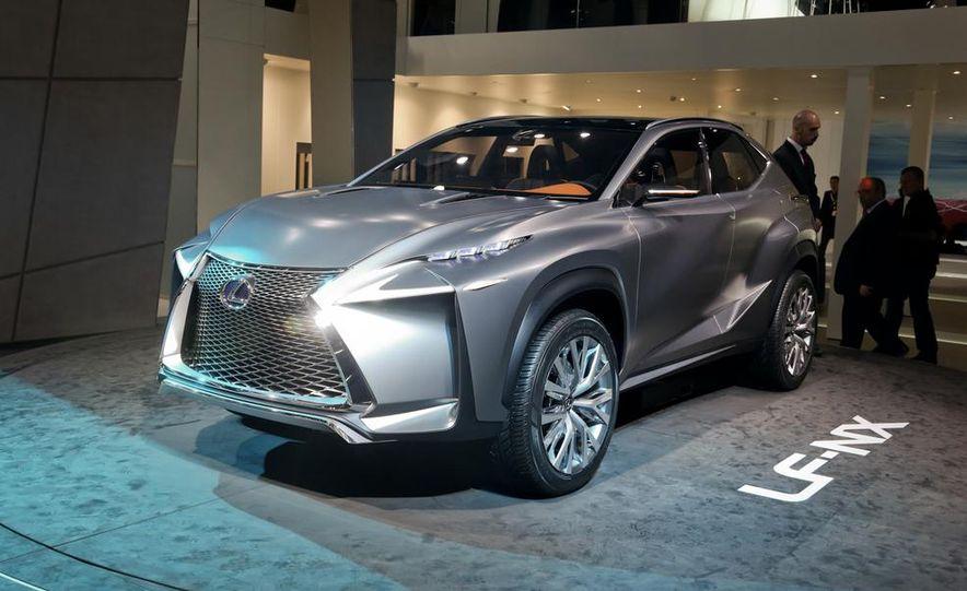 Lexus LF-NX Crossover concept - Slide 1