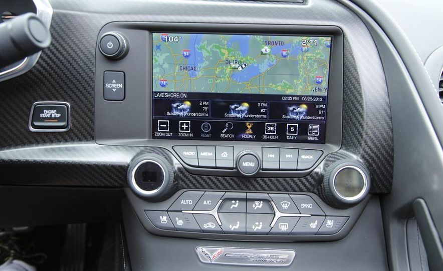 C6 and 2014 (C7) Chevrolet Corvette Touring seats - Slide 28