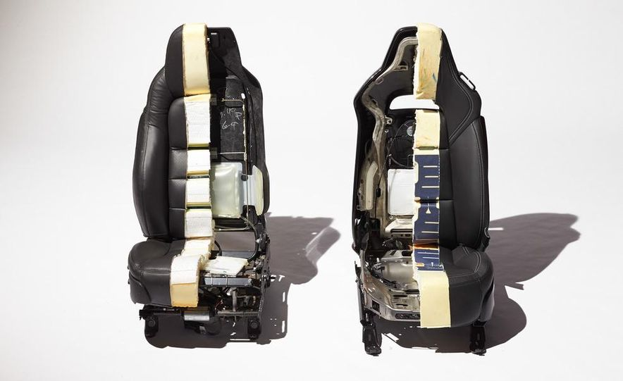 C6 and 2014 (C7) Chevrolet Corvette Touring seats - Slide 2