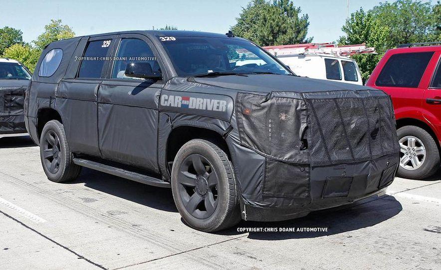 2015 Chevrolet Tahoe LTZ - Slide 7
