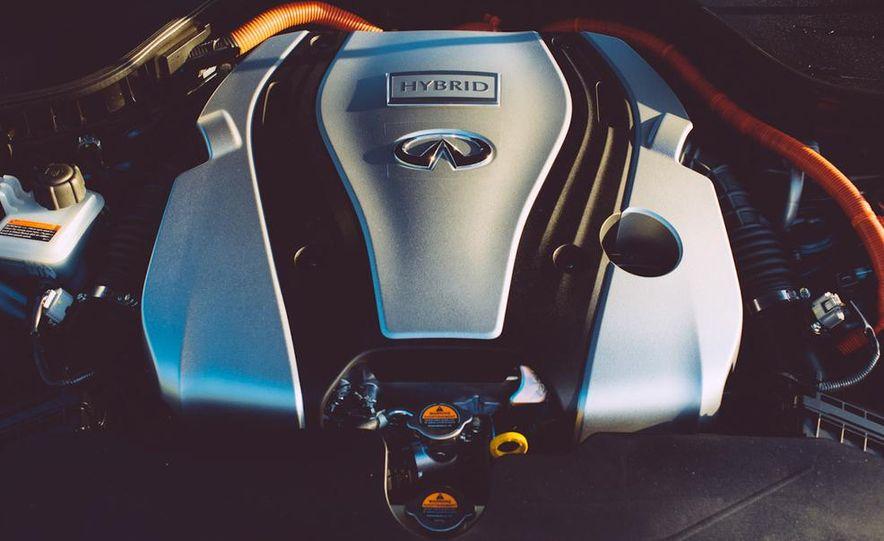 2014 Infiniti Q50S hybrid - Slide 50