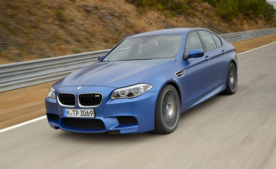 2014 BMW M5 with Competition Package - Slide 3