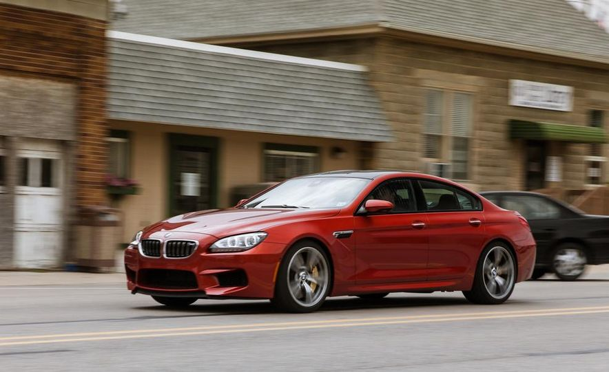 2014 BMW M5 with Competition Package - Slide 67