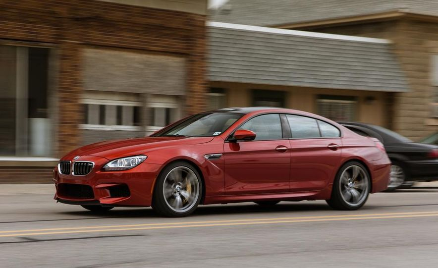 2014 BMW M5 with Competition Package - Slide 68