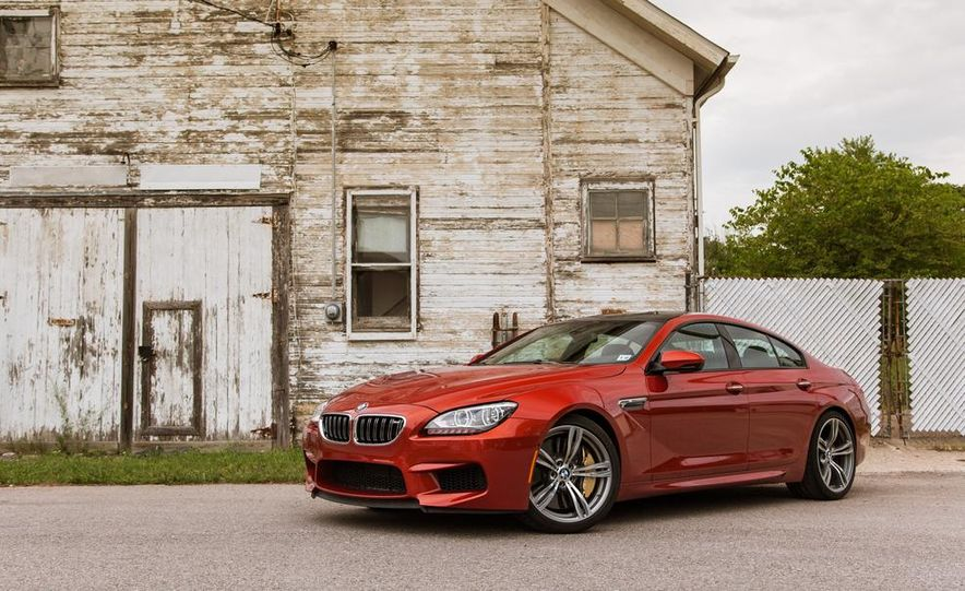 2014 BMW M5 with Competition Package - Slide 73