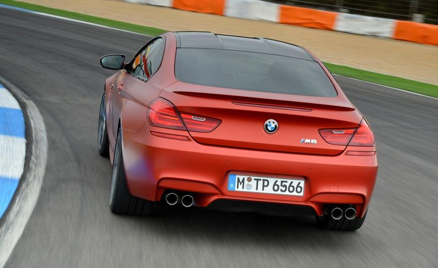 2014 BMW M5 with Competition Package - Slide 33