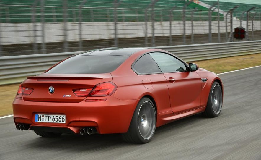 2014 BMW M5 with Competition Package - Slide 35