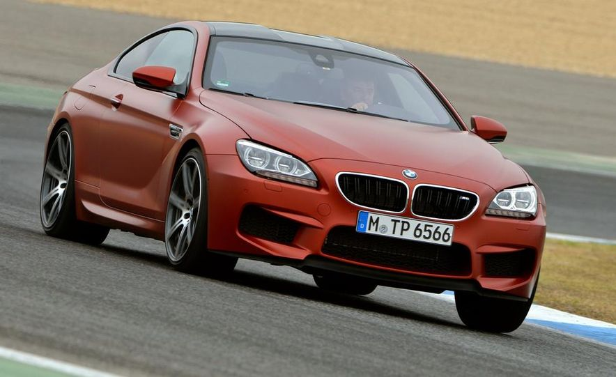 2014 BMW M5 with Competition Package - Slide 38