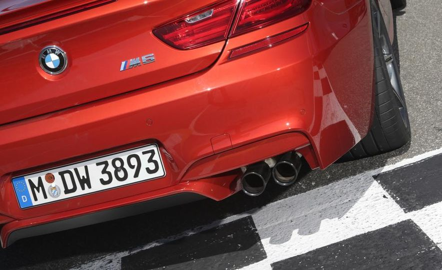 2014 BMW M5 with Competition Package - Slide 54