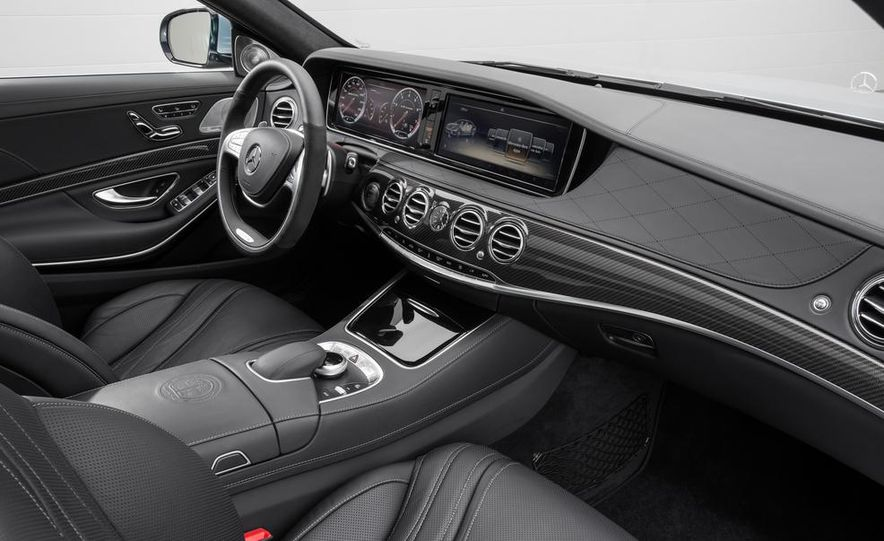 2014 Mercedes-Benz S63 AMG - Slide 19