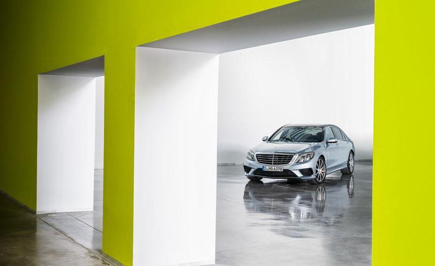 2014 Mercedes-Benz S63 AMG - Slide 9