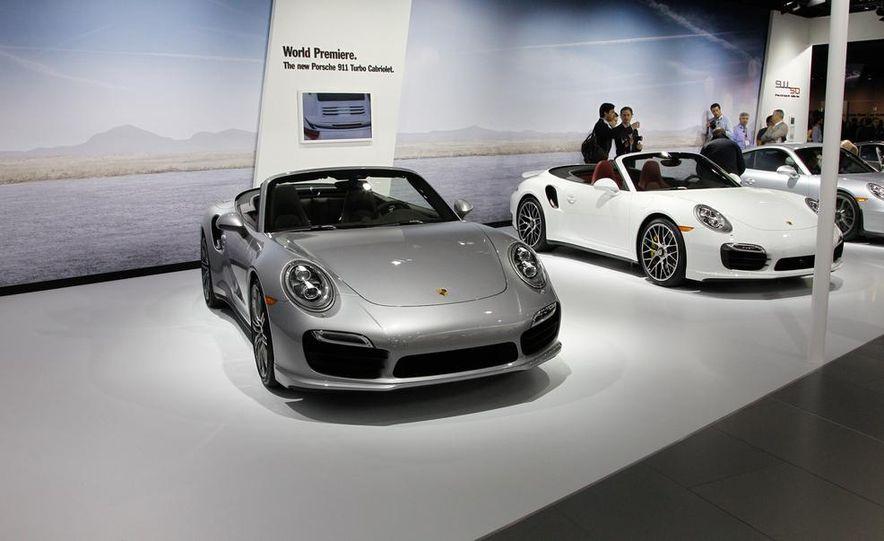 2014 Porsche 911 Turbo S Cabriolet - Slide 1