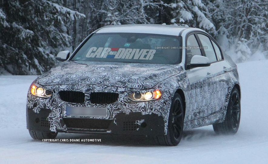 2015 BMW M4 coupes and M3 sedan - Slide 54