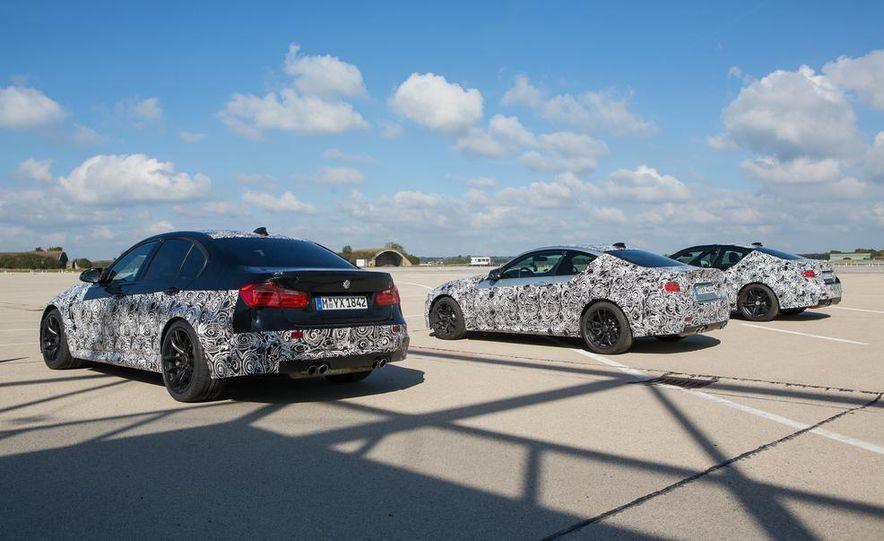 2015 BMW M4 coupes and M3 sedan - Slide 4