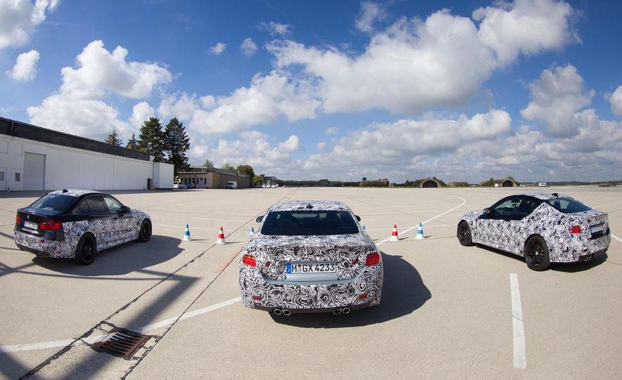 2015 BMW M4 coupes and M3 sedan - Slide 5