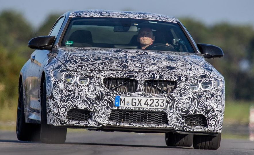 2015 BMW M4 coupes and M3 sedan - Slide 14