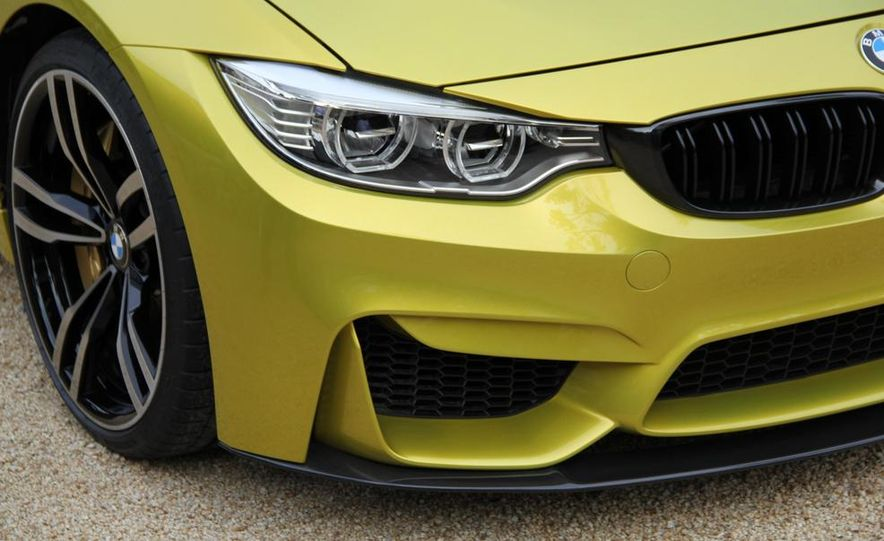 2015 BMW M4 coupes and M3 sedan - Slide 36