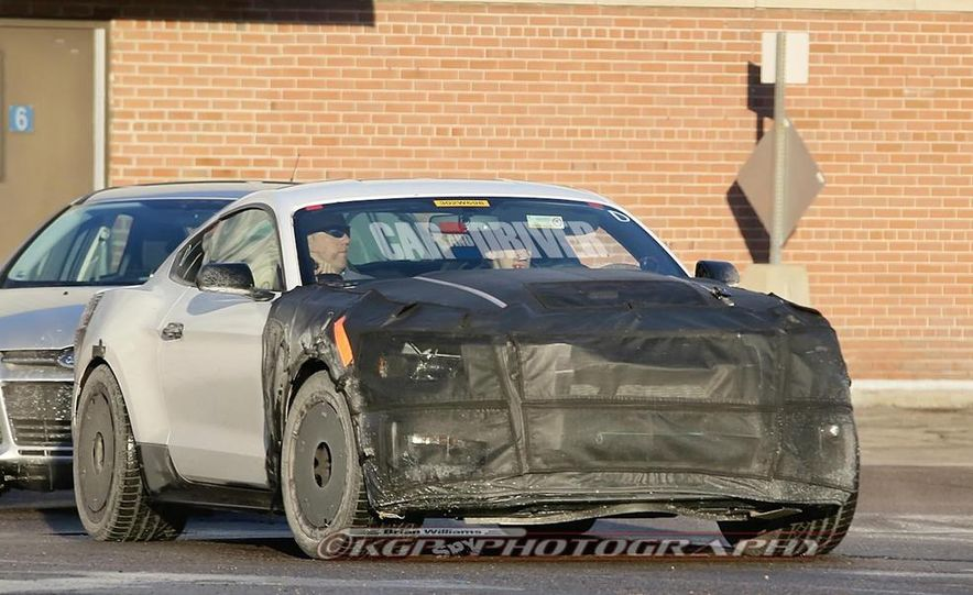 2016 ford mustang shelby gt500 spy photo - Ford Mustang Gt500 2016