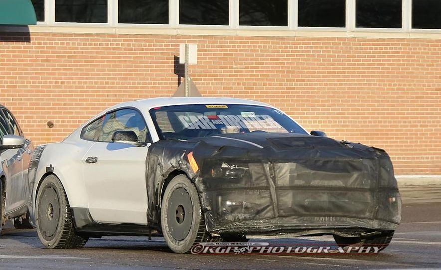 2016 ford mustang shelby gt500 spy photo image image image - Ford Mustang 2016 Gt500