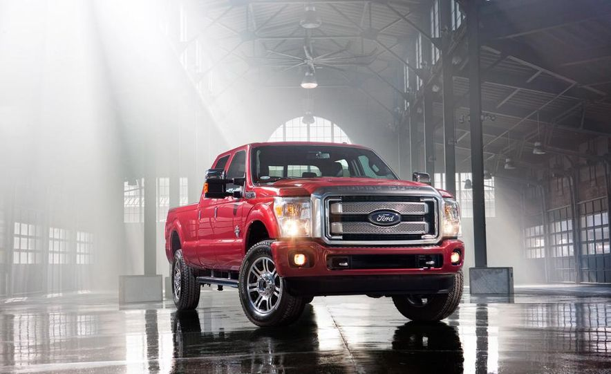 2015 Ford F-250 Super Duty King Ranch Crew Cab - Slide 11