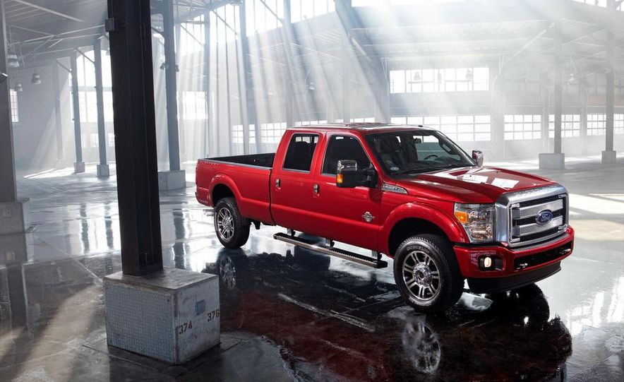 2015 Ford F-250 Super Duty King Ranch Crew Cab - Slide 12