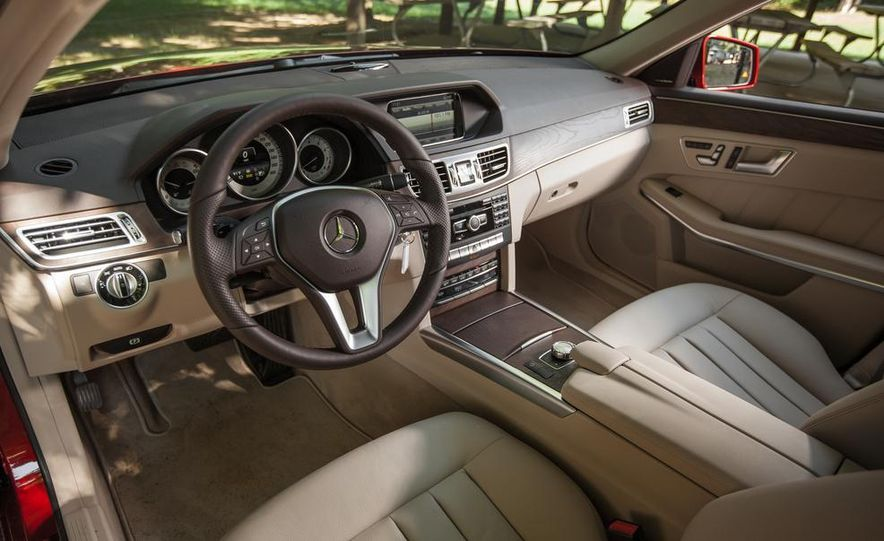 2014 Mercedes-Benz E350 4MATIC wagon - Slide 12