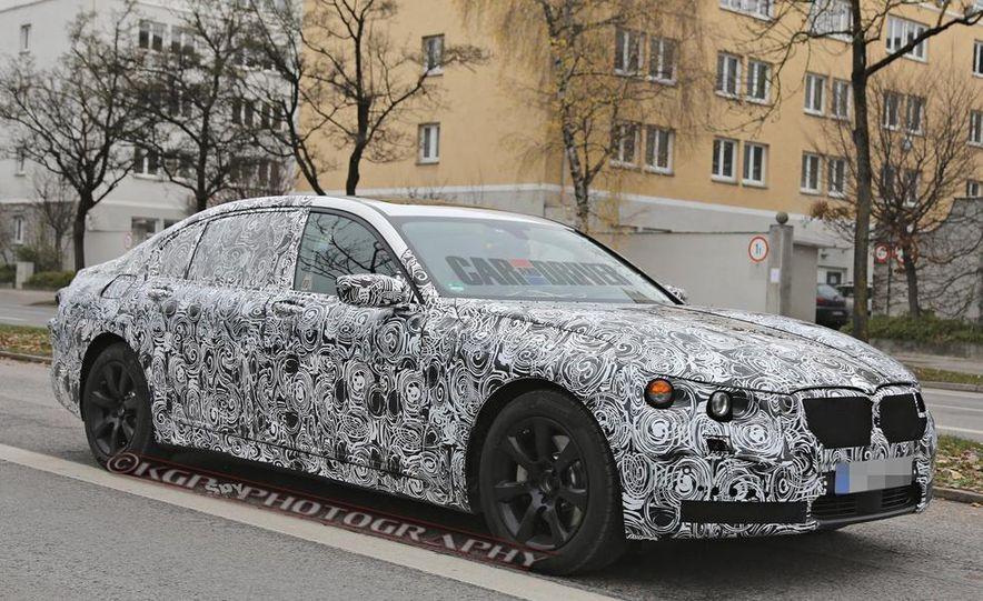 2016 BMW 7-series (spy photo) - Slide 1