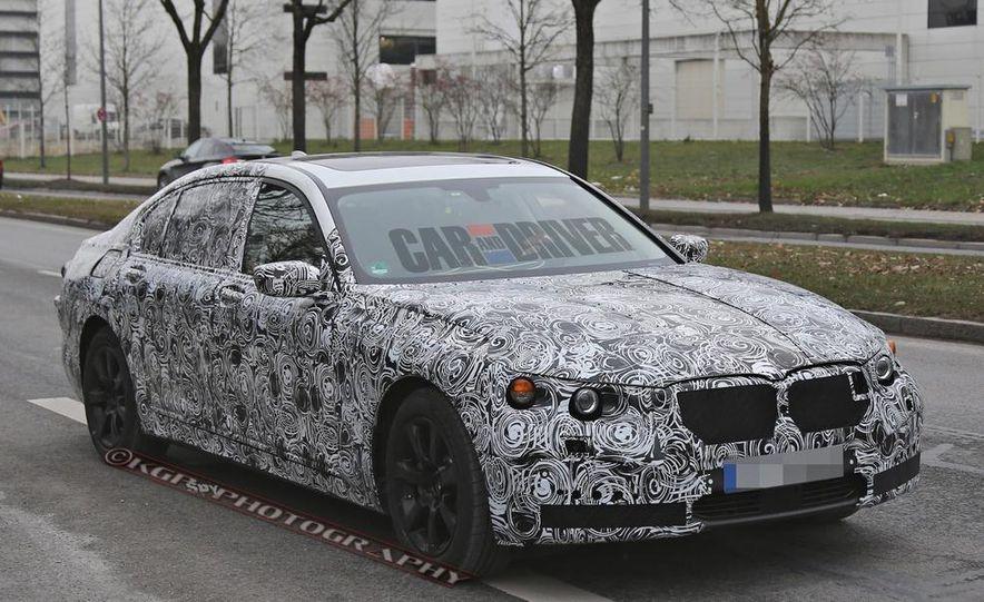 2016 BMW 7-series (spy photo) - Slide 2