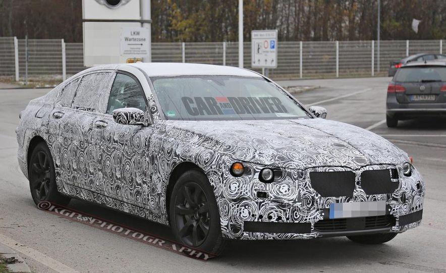 2016 BMW 7-series (spy photo) - Slide 3