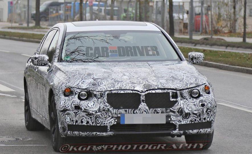 2016 BMW 7-series (spy photo) - Slide 4