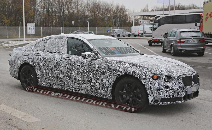 2016 BMW 7-series (spy photo) - Slide 5