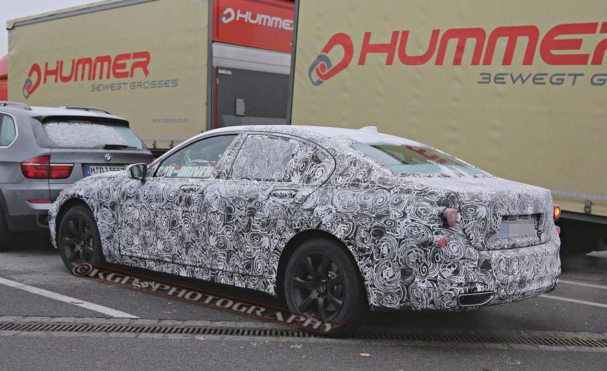 2016 BMW 7-series (spy photo) - Slide 17