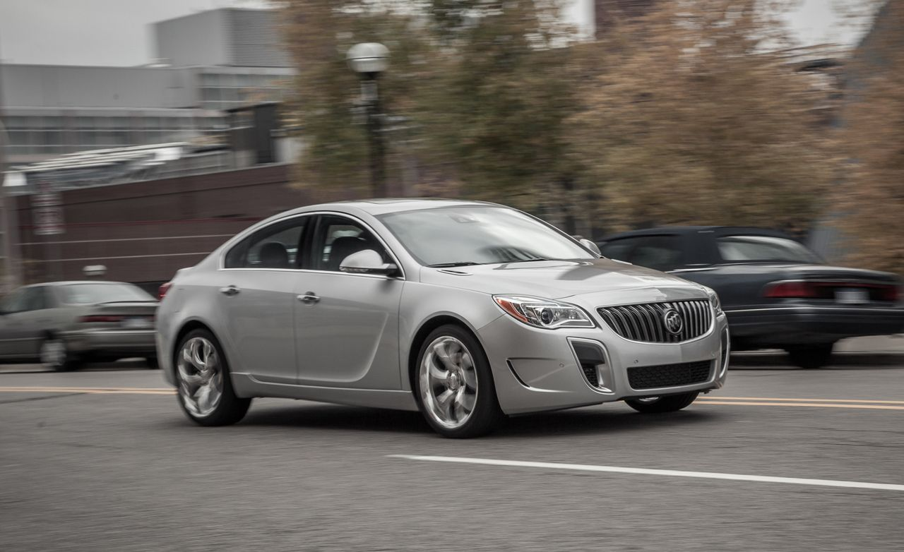 2014 Buick Regal Regal Gs First Drive Review Car And
