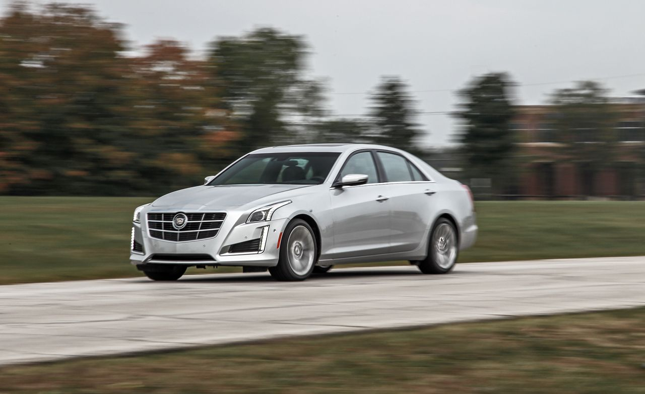 2014 Cadillac Cts 2 0 Turbo Test Review Car And Driver