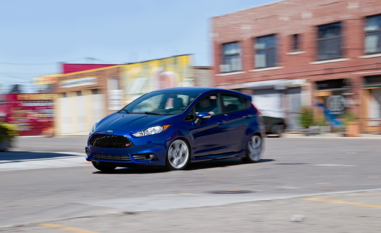 2014 ford fiesta st instrumented test review car and driver