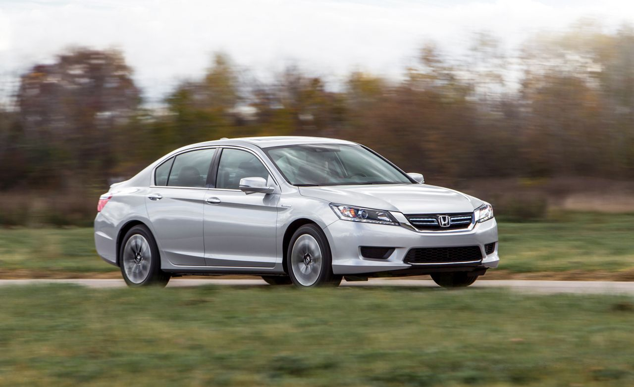 2014 Honda Accord Hybrid Test Review Car And Driver 1990 Engine Performance Problem 4