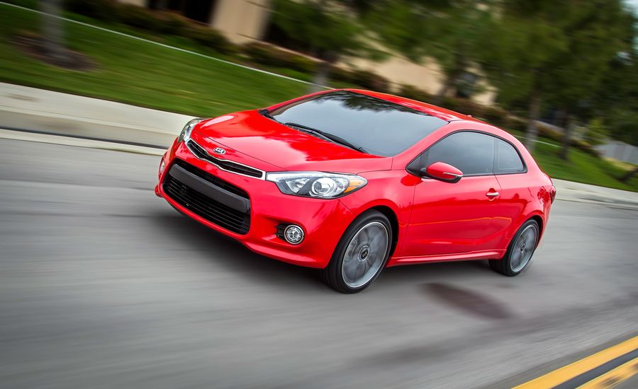 2014 Kia Forte Koup Sx Turbo First Drive Review Car And Driver