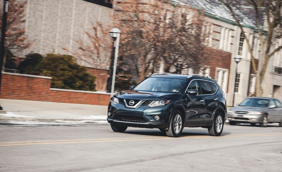 2014 nissan rogue sl awd test review car and driver. Black Bedroom Furniture Sets. Home Design Ideas