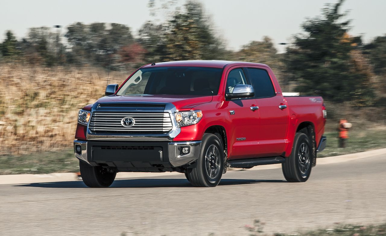 Toyota Tundra 1794 Edition >> 2014 Toyota Tundra 5.7L 4x4 Test | Review | Car and Driver