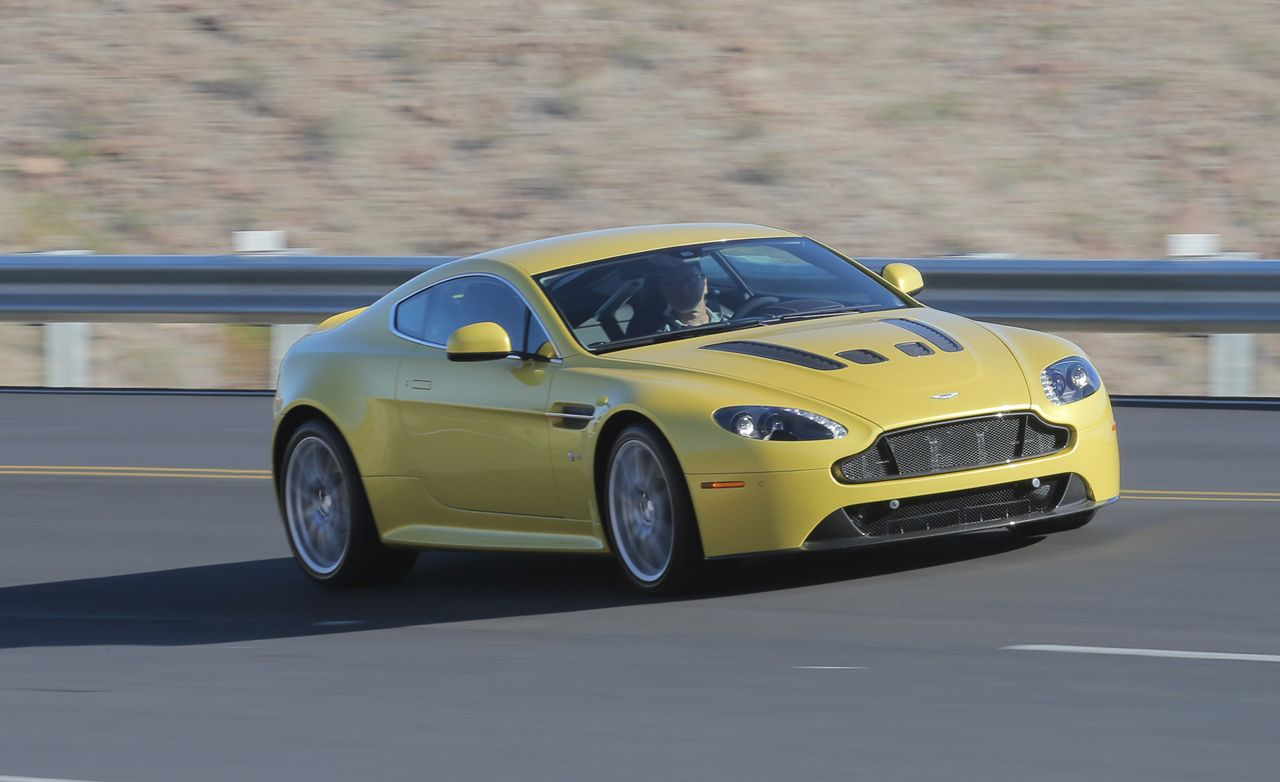 Aston Martin V Vantage S First Drive Review Car And Driver - Aston martin v8 vantage s