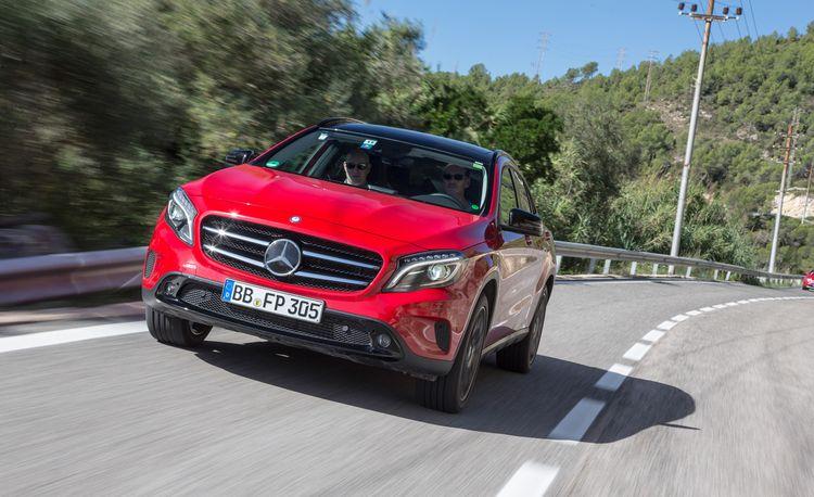 2015 Mercedes-Benz GLA-class Prototype