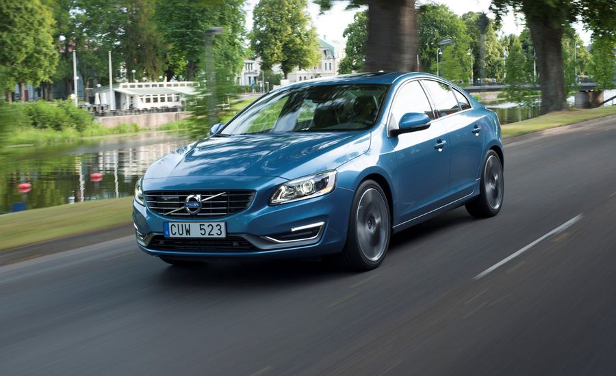 2015 Volvo S60 / V60 / XC60 With New Drive-E Four-Cylinder Engine