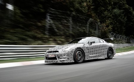 We Ride Around the 'Ring in the 2015 Nissan GT-R Track Package
