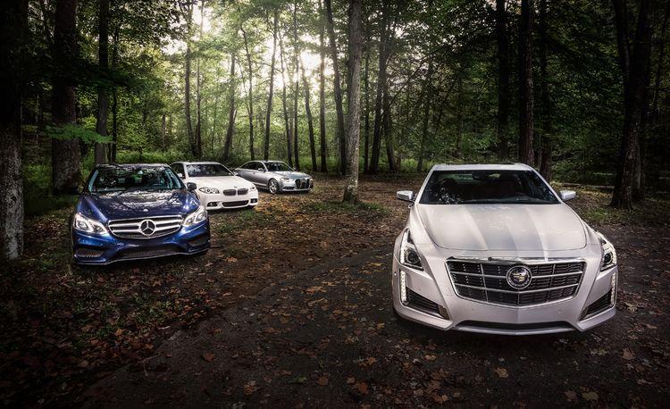 2014 Cadillac CTS 3.6 vs. 2014 Audi A6 3.0T, 2014 BMW 535i xDrive, 2014 Mercedes-Benz E350